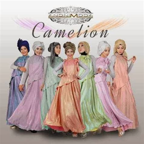 Laisa 2tone mumtaz collection camelion by anonimoda