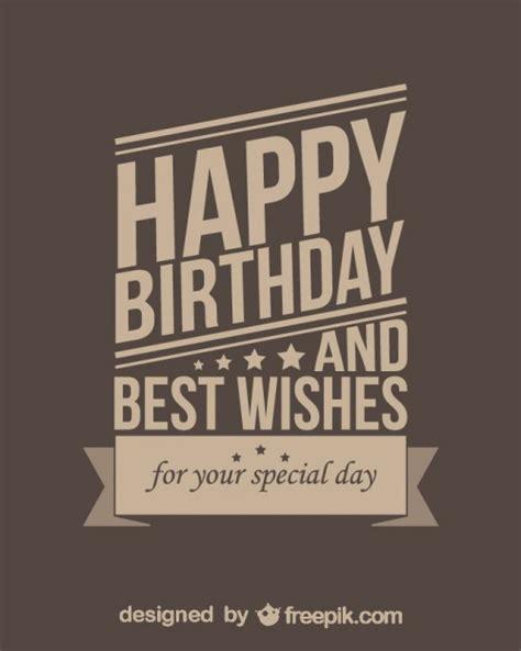 imagenes de happy birthday best friend feliz cumplea 241 os estilo retro descargar vectores gratis