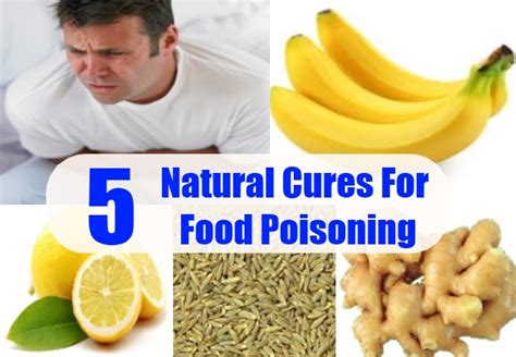 effective ways to cure food poisoning naturally usa uk