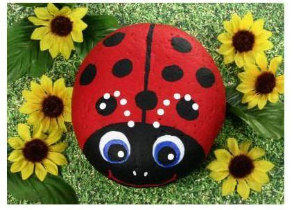 rock craft projects painting animals rocks free patterns rock painting