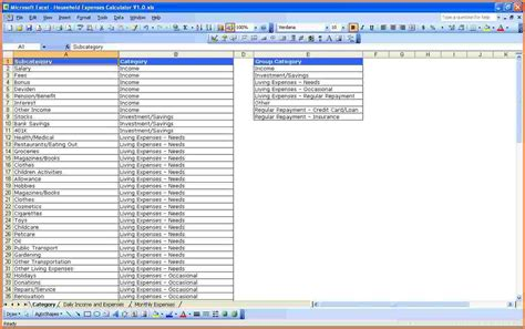 Debt Stacking Excel Spreadsheet by 9 Excel Expense Spreadsheet Excel Spreadsheets