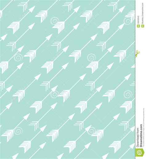hand drawn seamless arrow pattern stock vector bohemian hand drawn arrows seamless pattern stock vector