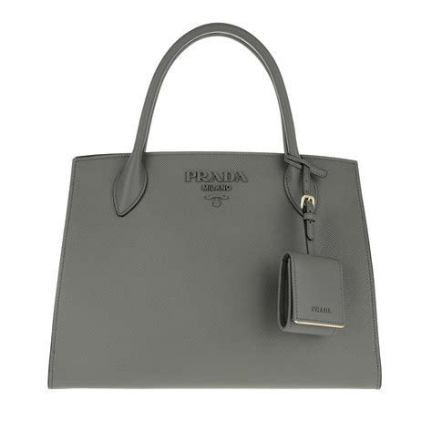 Monochrome Tote Bag prada monochrome tote bag marmo in grey fashionette