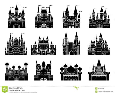 different styles of architecture different style of old architecture royalty free stock