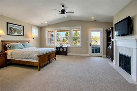 master bedroom above garage residential portfolio new construction remodels
