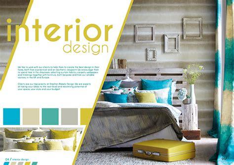Design Poster Interior   stephen blakely design promotional material desired