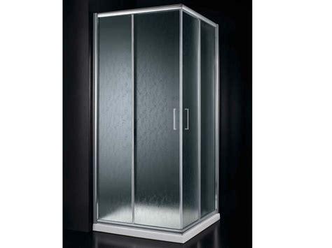 box doccia america box doccia angolare in vetro acrilico con porte scorrevoli