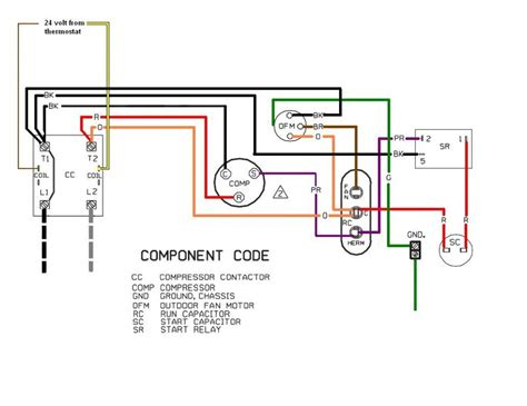 ac compressor wiring diagram efcaviation