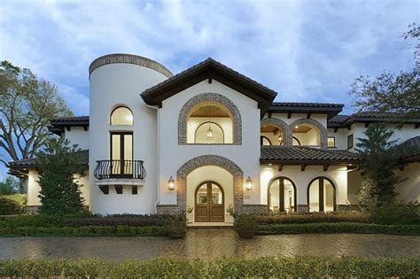 Spanish Villa Style Homes by Spanish Villa Front Dream Home Pinterest I Promise