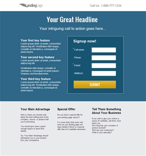 lead generation page template landing page templates pagewiz