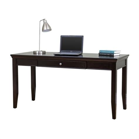 martin furniture fulton office 60 quot writing desk in rich