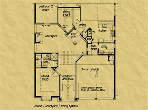 arizona floor plans casitas arizona house plans house plans with casitas and
