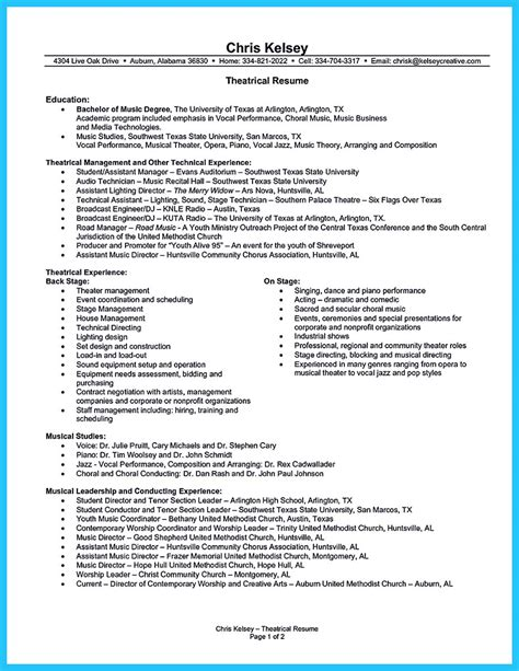 Performance Resume by The Best And Impressive Resume Exles Collections