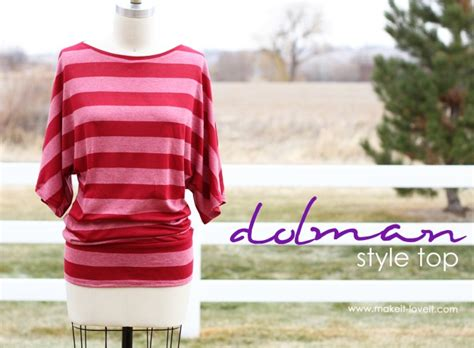 free pattern jersey top make a simple top dolman style with banded bottom make