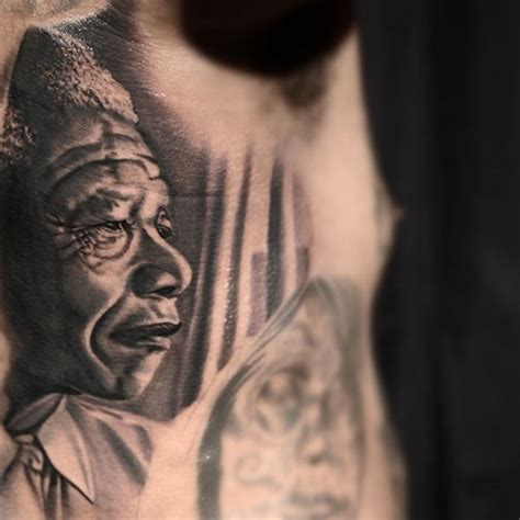 the game obama tattoo nelson mandela honoured with