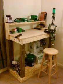 official quot how to quot build a basic reloading bench plans and