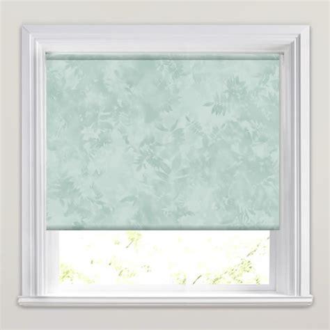 green patterned roller blind subtle deep green white elegant floral patterned roller