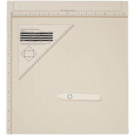 scoring board for card martha stewart crafts scoring board and
