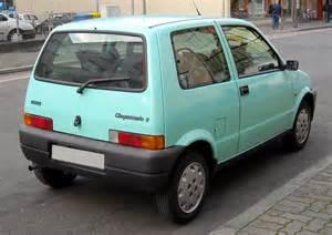 Fiat Cinquencento File Fiat Cinquecento Rear 20081127 Jpg