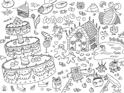 diy coloring placemat coloring pages