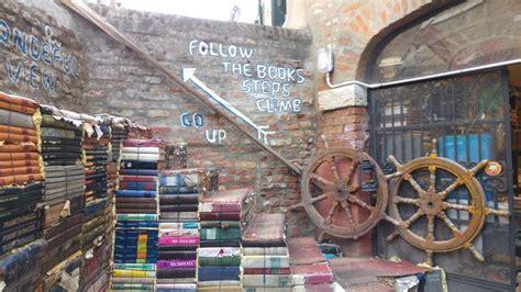 venezia libreria acqua alta libreria acqua alta