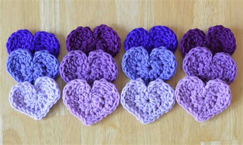 heart pattern in crochet cute little heart free crochet pattern
