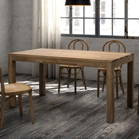Distressed Finish Dining Table Zuo Era Fillmore Dining Table In Distressed Finish Matthew Izzo