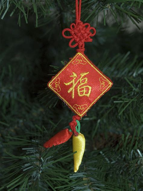 chinese christmas tree ornament photograph by sally weigand
