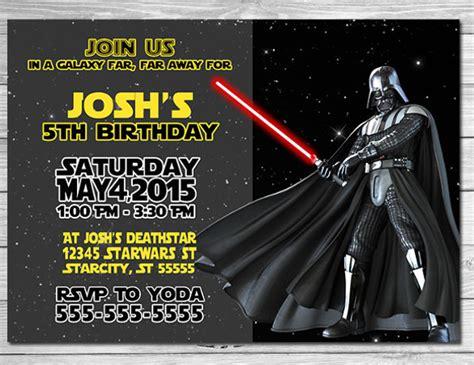 12 wars birthday invitations free psd