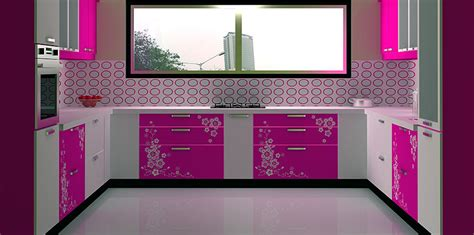 3d sunmica design c shaped modular kitchen designed by design indian kitchen