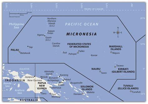 micronesia map micronesia