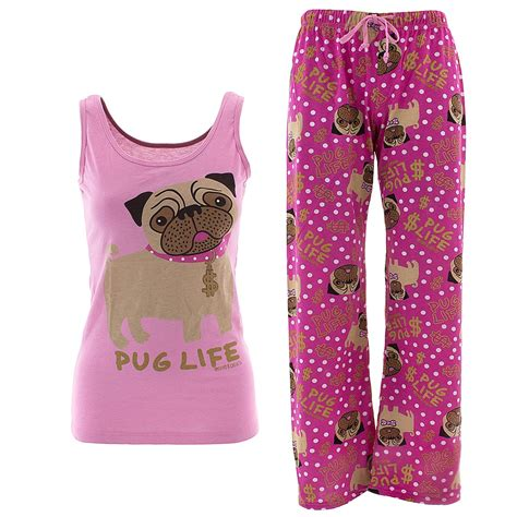 pug pajamas david goliath pug pajamas for