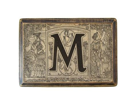 Tagalog Dictionary Letter X the letter m monogram plaque 1922 dictionary