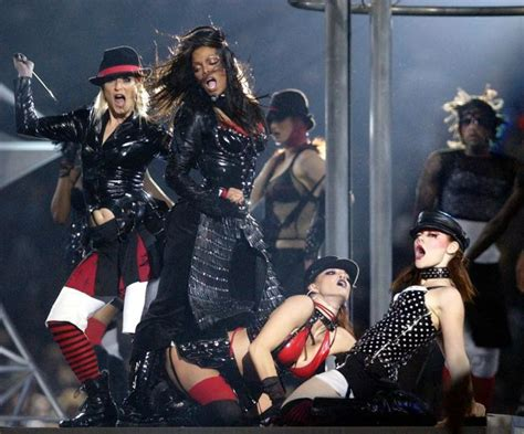 2004 Bowl Halftime Show Wardrobe by Janet Jackson S Most Iconic Moments As She Wins Bet Award