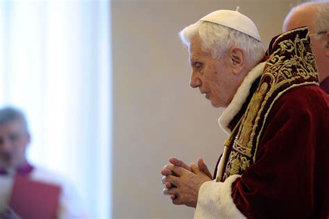 Pope Benedict Resignation Letter by Pope Benedict Xvi Resigns Upending 600 Years Of Tradition The Washington Post
