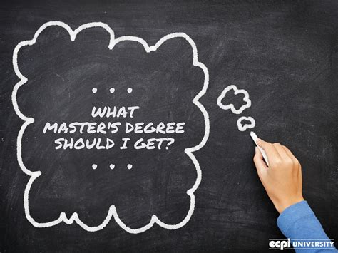 what master s degree can i get besides an mba if i want to be