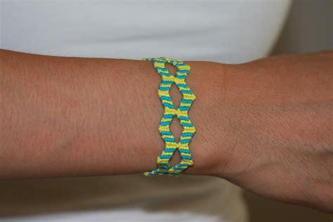 double zig zag pattern double zig zag friendship bracelets