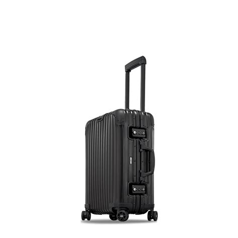 alitalia cabin baggage topas stealth cabin multiwheel 340l black carry on