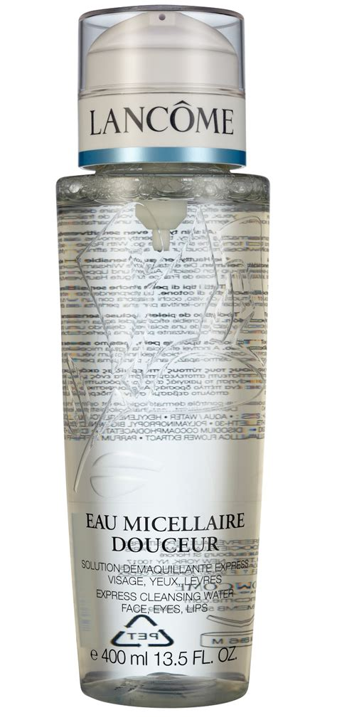 Lancome Eau Micellaire Douceur 200ml with the beautifool 2014 up micellar waters
