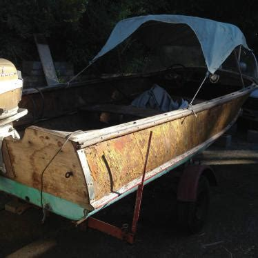 1957 wolverine 16 aluminum boat for sale in wolverine wagemaker 1957 for sale for 500 boats from