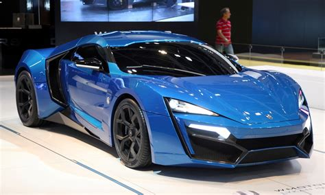 2014 W Motors Lykan Hypersport In 40 Amazing