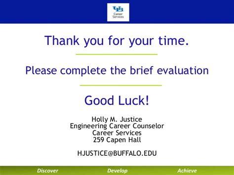 at buffalo career services technical resumes