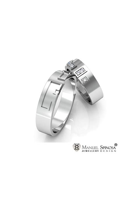 86 18 karat white gold wedding band 18 karat white