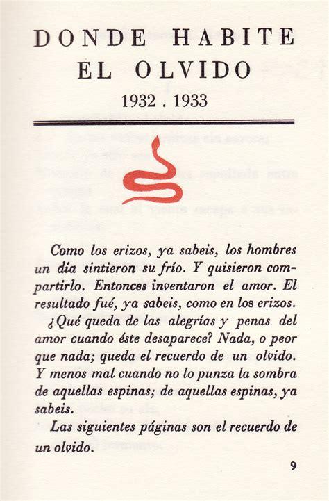 libro donde habita el olvido luis cernuda donde habite el olvido publish with glogster