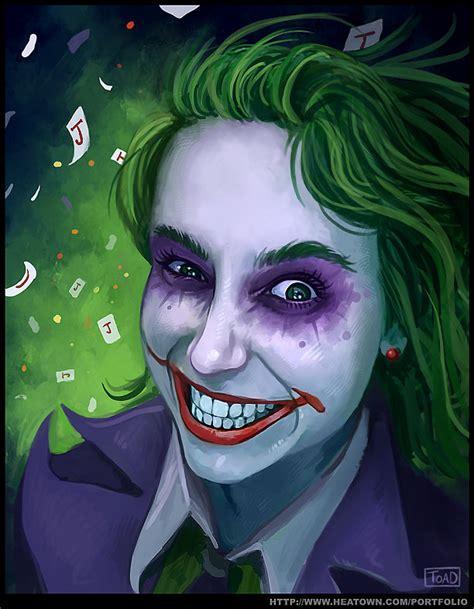imagenes de joker girl miss joker by tohad on deviantart