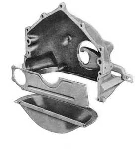 chevy lower bellhousing cover manual transmission v8