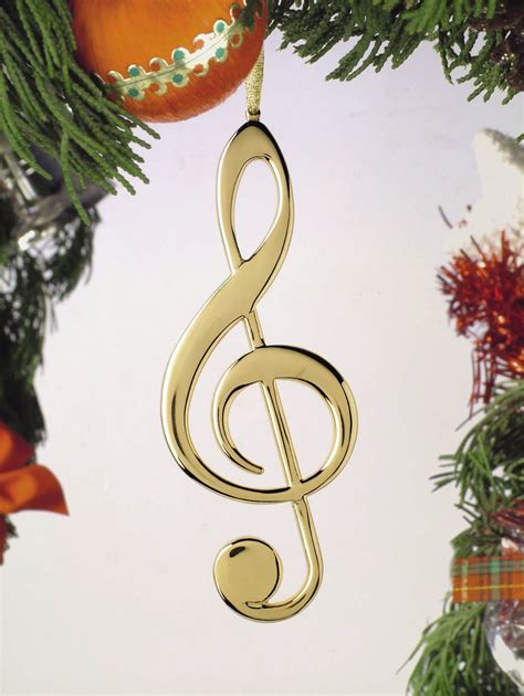 buy treble clef christmas ornament music gift