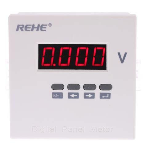 Gae Voltmeter Ac 96 500v 1 96 96mmdigital voltmeter single phase ac voltage panel