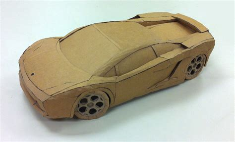 How To Make Lamborghini Car Cardboard Lamborghini Gallardo 183 Bruno De Hoyos