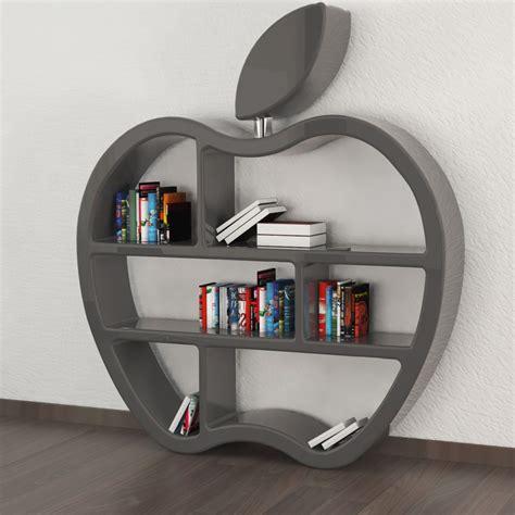 librerie design moderno libreria design moderno rossa o grigia gluttony